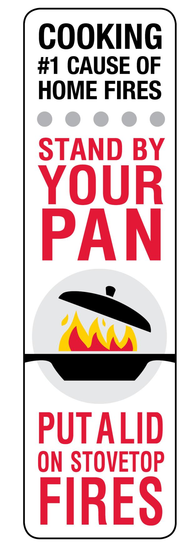 Stand By Your Pan and Put a Lid on Stovetop Cooking logos