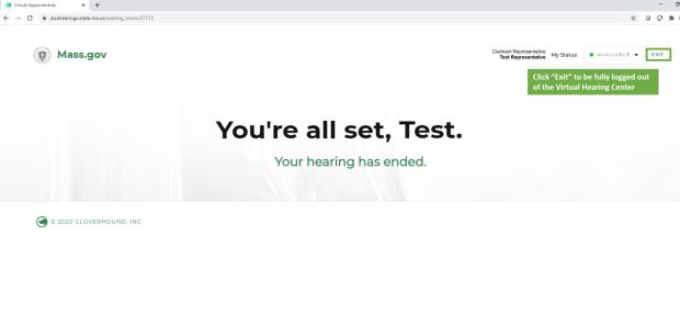 virtual hearing rep step 8c