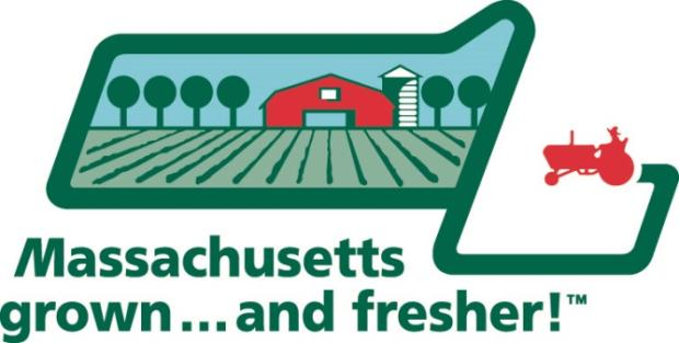 Massachusetts grown and fresher logo