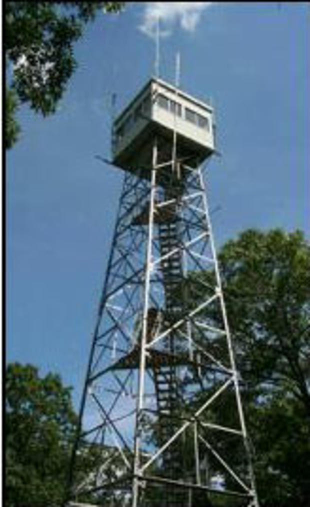Forest Fire Control fire tower