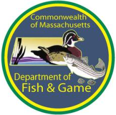 Department of fish and game for Massachusetts freshwater fishing license
