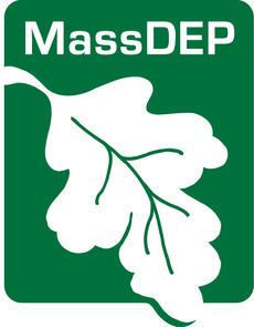 MassDEP logo