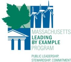 Massachusetts Leading by Example Program logo