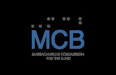 MCB Logo, Massachusetts Commission for the Blind
