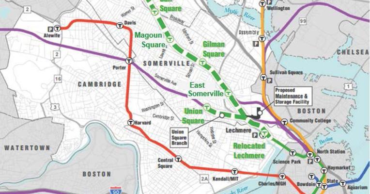 Green Line Subway Map Boston.Green Line Extension Project Glx Mass Gov